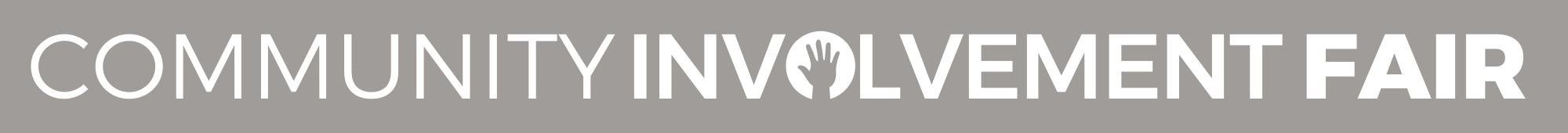 Involvement Fair Logo in gray